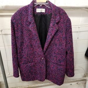 Maggie Lawrence Collection Tweed Jacket Size 20